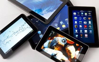 5 most developed tablets in the cell market