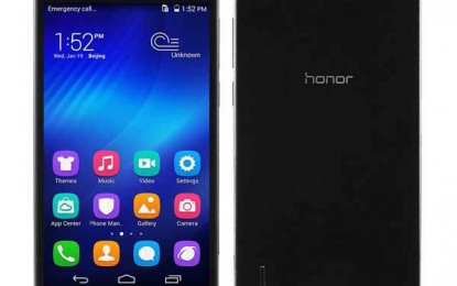 Huawei Honor 6 Running Octa Core Kirin 920 Comes with 3 GB RAM