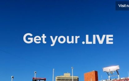 Get your .live Domain today for Free with Whois Privacy